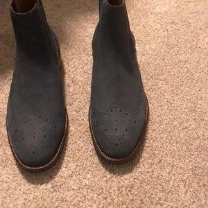 Brand New Johnston & Murphy Suede Boots Sz 12